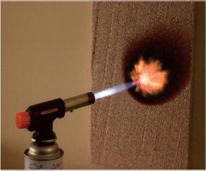 フネンダン燃焼試験 15秒